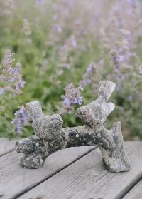 Декоративные фигурки для сада из состаренной керамики Птички AC168 Esschert Design картинка