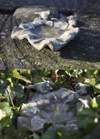Керамическая купальня для птиц для сада и дачи Aged Ceramic AC138 Esschert Design фото