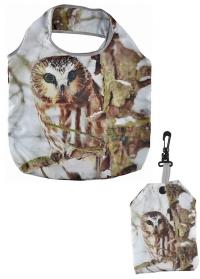 Складная сумка-авоська для покупок Совы Esschert Design TP227 фото