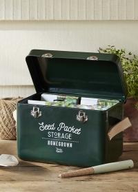 Контейнер для хранения пакетиков семян Frog Garden Suppliers от Burgon & Ball фото