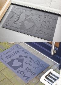 Придверный коврик на резиновой основе «Love» Esschert Design 3.jpg