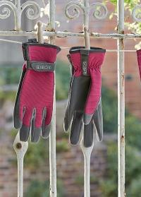 Перчатки для садовых работ Sophie Conran Raspberry Burgon & Ball картинка.jpg