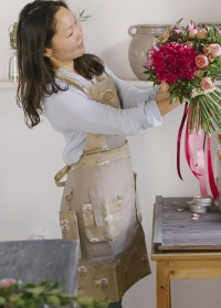 Фартук для флориста GardenGirl Roses Collection GGFK фото.jpg