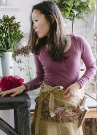 Одежда флориста футболка с длинным рукавом Plum Classic GardenGirl GGLS25 фото.jpg