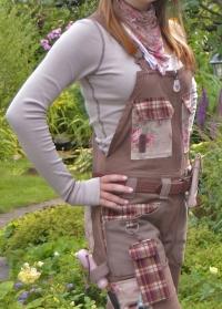 Одежда флориста футболка с длинным рукавом GardenGirl  GGLS02 фото.jpg