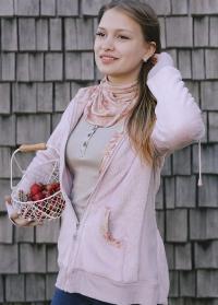 Одежда для флориста кофта флисовая GardenGirl Classic TF02 фото.jpg