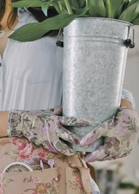 Перчатки для флориста с нитрилом GardenGirl Chelsea RRH30 фото.jpg