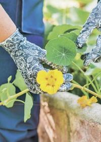 Перчатки для флориста GardenGirl Denim RRH12 фото.jpg