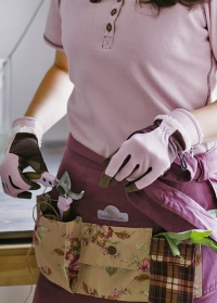 Перчатки флористические из искусственной кожи GardenGirl RH11 фото.jpg