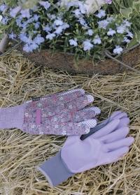 Набор флористических перчаток с нитрилом Vintage Floral Briers фото.jpg