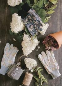 Набор флористических перчаток из хлопка Flower Girl by Julie Dodsworth Briers B6960 фото.jpg