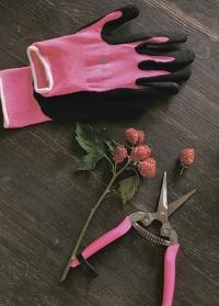 Перчатки для флористов флуорсцентные Florabrite Burgon & Ball фото.jpg