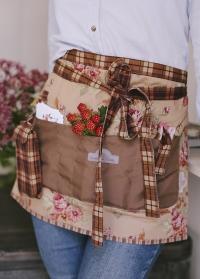 Фартук флориста с карманами GardenGirl Classic FKS02 фото.jpg