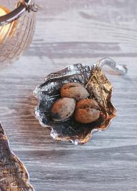 Декоративная тарелочка в цвете античного серебра от датского бренда Lene Bjerre фото