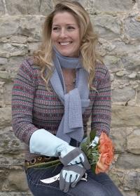 Перчатки садовые с длинными манжетами Burgon Ball фото.jpg