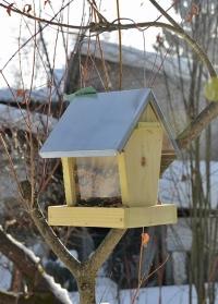 Деревянная садовая кормушка для птиц «Домик» FB366 Esschert Design фото
