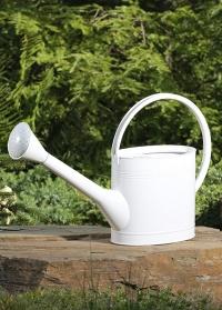 Лейка садовая для цветов эмалированная 5 л Watering Can Burgon Ball фото.jpg