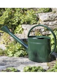 Лейка металлическая для сада огорода 5 л Green Burgon & Ball фото.jpg