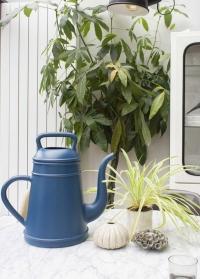 Дизайнерская пластиковая лейка для цветов 12 л Lungo Blue Xala фото