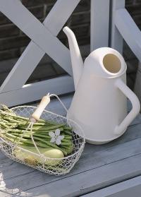 Дизайнерская лейка-кофейник для полива комнатных и садовых растений 6 л. XALA Butler Light Grey фото