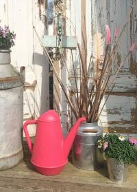 Дизайнерская садовая лейка для цветов 6 л Butler Pink Xala фото.jpg