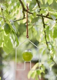 Кормушка для птиц держатель для яблока Burgon Ball фото.jpg