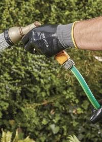 Садовые мужские перчатки водонепроницаемые с нитрилом Briers фото