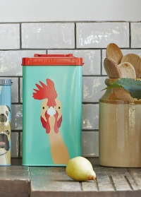 Емкость для хранения птичьего корма Chiken Creatureweares Burgon Ball фото.jpg