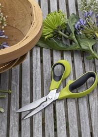 Садовые ножницы для цветов с волнистыми лезвиями Burgon & Ball фото.jpg