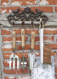 Декоративная настенная вешалка с 4 крючками Птички BR23 Esschert Design фото