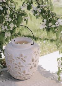 Керамический свечной фонарь Salva Lene Bjerre фото.jpg