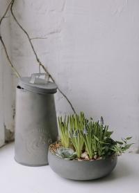 Декоративная оцинкованная миска Zina Lene Bjerre фото.jpg