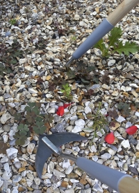 Инструмент для прополки и рыхления Weed Slice Burgon Ball фото