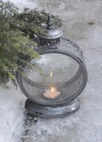 Винтажный свечной фонарь WL61 Esschert Design фото.jpg