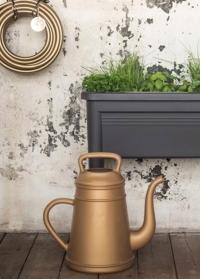Садовая лейка-кофейник для цветов Lungo Gold Xala фото.jpg