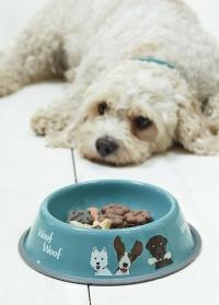 Миска для собак The Rabble Dog Bowl Creatureweares Burgon Ball фото.jpg