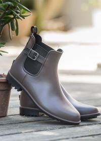 Ботинки челси резиновые Brown Delia Blackfox фото.jpg