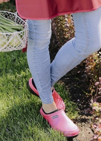 Женские сабо из эва для дачи и сада Fuchsia Mellow AJS Blackfox фото