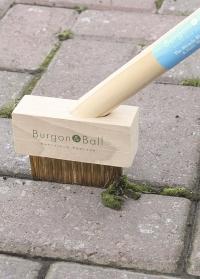Щетка садовая для удаления сорняков на длинной ручке Burgon Ball фото.jpg