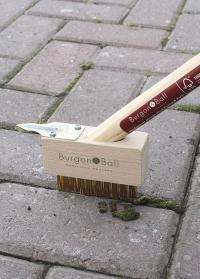 Щетка для удаления сорняков на короткой ручке Burgon Ball фото.jpg