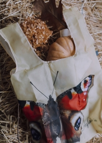 Сумка-авоська для покупок складная Butterfly Collection TP312 от Esschert Design картинка