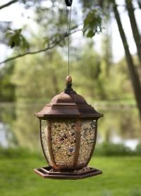 Декоративная кормушка для птиц подвесная Фонарь Lantern by ChapelWood фото