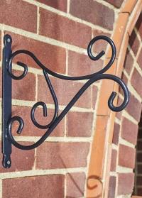Кронштейн декоративный для подвесных кашпо 40 см Severn Smart Garden фото