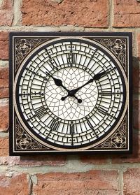 Уличные часы для загородного дома в английском стиле Little Ben by Outside In фото