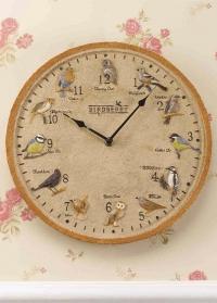 Часы уличные настенные с птицами Birdberry Smart Garden фото