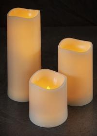 Свеча светодиодная Led 18 см Flameless Pillar by Smart Garden фото