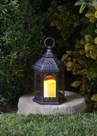 Фонарь со светодиодной свечой Maroc by Outside In фото