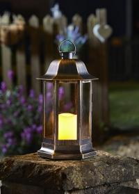 Фонарь со светодиодной свечой Nordic Gold Smart Garden фото