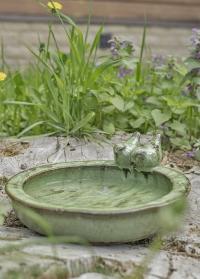 Керамическая купальня для птиц садовая FB421 Esschert Design фото