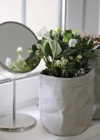 Декоративный эко мешок для хранения 20 см Caia Grey Lene Bjerre фото